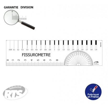 Fissuromètre Fissurotest Mesure