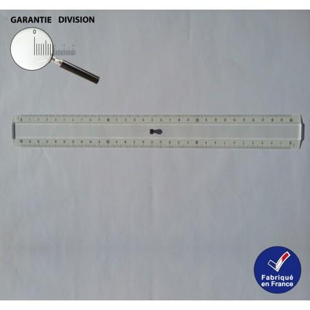 Règle 30 cm, Triple décimètre en Plexi