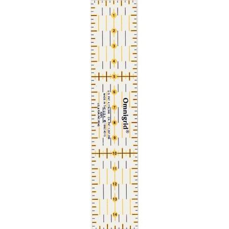 Règle universelle Patchwork 3X15 Omnigrid Prym 611 317