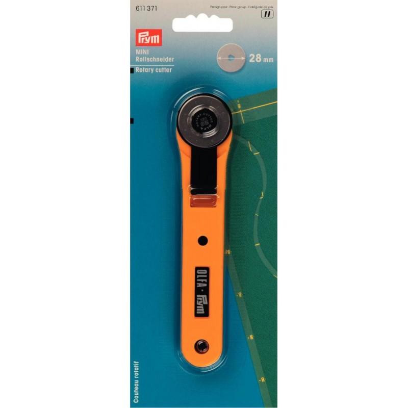 Couteau rotatif ou Cutter circulaire Olfa 28mm