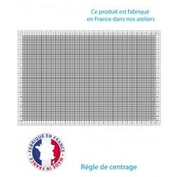 Régle de centrage Millimétrée