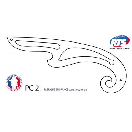 Pistolet couture PC 21 pistolet à courbes perroquet couture