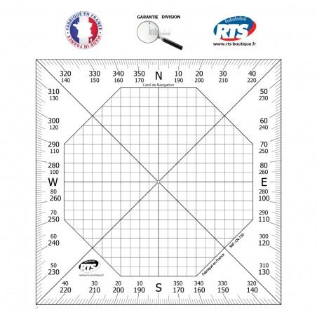Carré de Navigation 13 cm x 13 cm Aviation et Marine